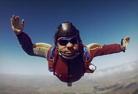 Az ejtőernyőzés én vagyok