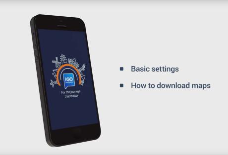 iGO Navigation app